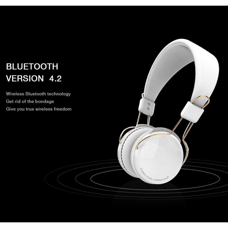 Casti On-Ear Wired Recci Angel REH-B02 - Negru
