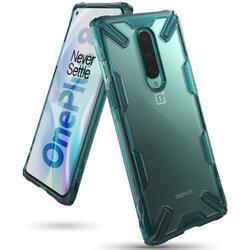 Husa OnePlus 8 Ringke Fusion X - Turquoise Green
