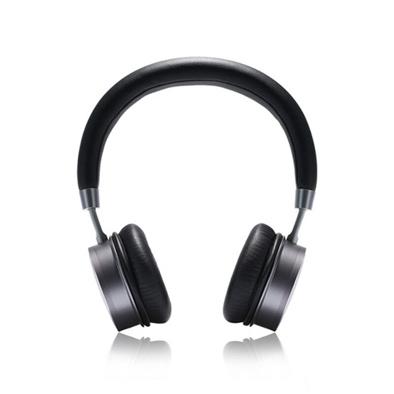Casti On-Ear Remax Wireless Stereo Headphone Bluetooth V4.2 - RB-520HB - Black/Gray