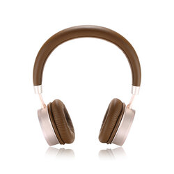 Casti On-Ear Remax Wireless Stereo Headphone Bluetooth V4.2 - RB-520HB - Gold/Brown