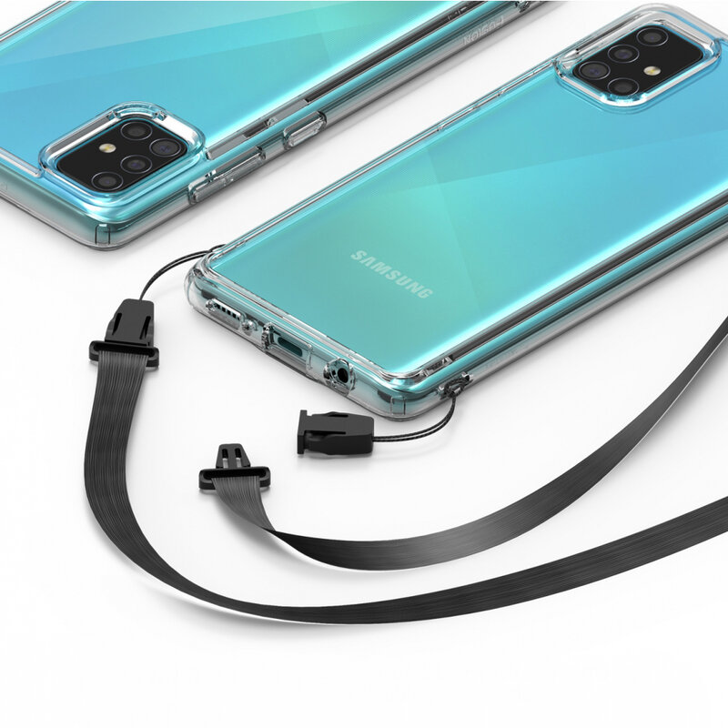 Husa Samsung Galaxy A51 Ringke Fusion - Clear