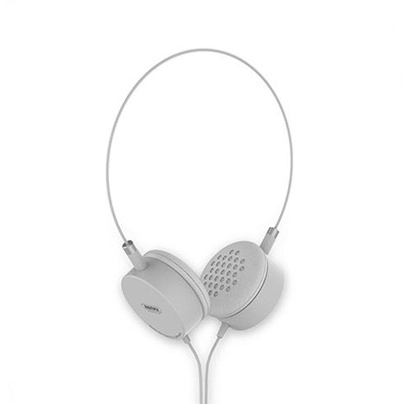 Casti On-Ear Remax Smart High Quality Stereo Sound Cu Microfon 3.5mm - RM-910 - White