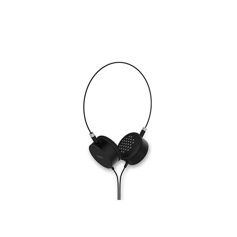 Casti On-Ear Remax Smart High Quality Stereo Sound Cu Microfon 3.5mm - RM-910 - Black