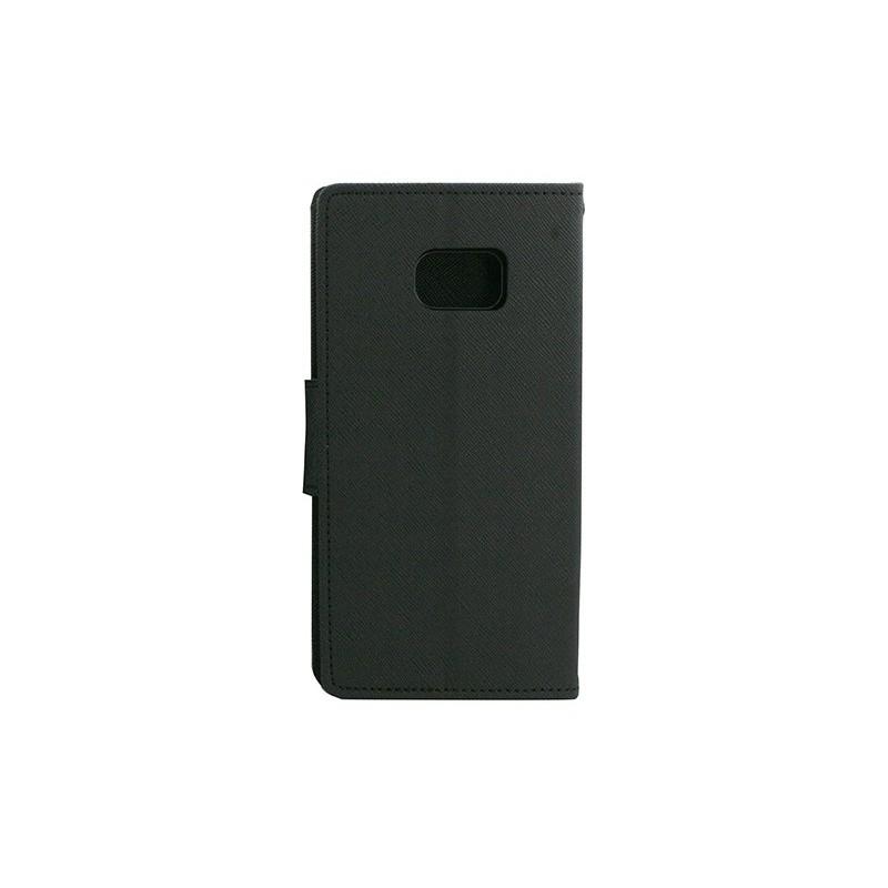 Husa Samsung Galaxy S7 Edge G935 Flip Negru MyFancy