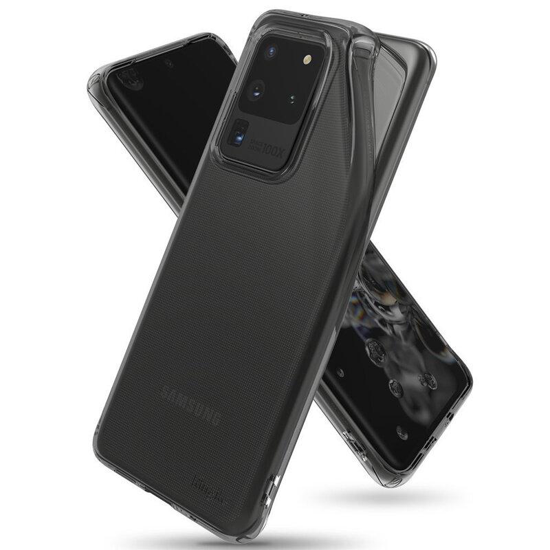 Husa Samsung Galaxy S20 Ultra 5G Ringke Air - Smoke Black