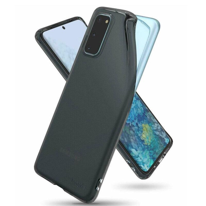 Husa Samsung Galaxy S20 5G Ringke Air - Smoke Black