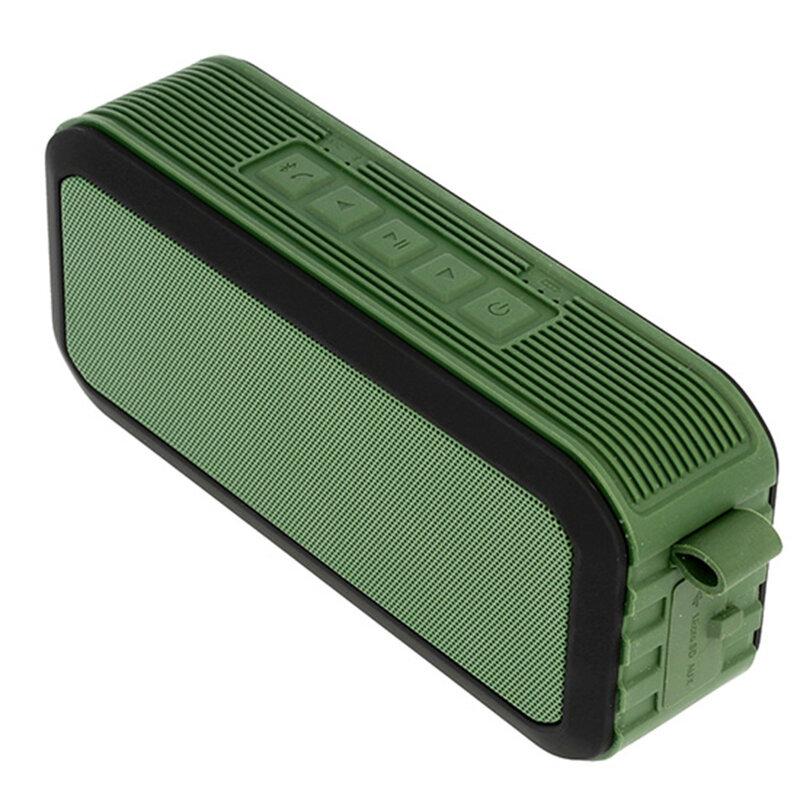 Boxa Portabila Bluetooth S5 Multimedia Wireless Speaker Waterproof IPX5 - Green