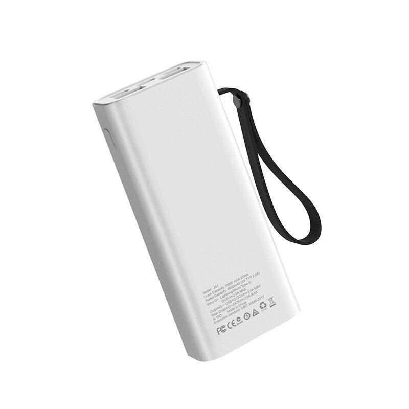Baterie Externa Hoco J41 Treasure 2xUSB 10000mAh - White
