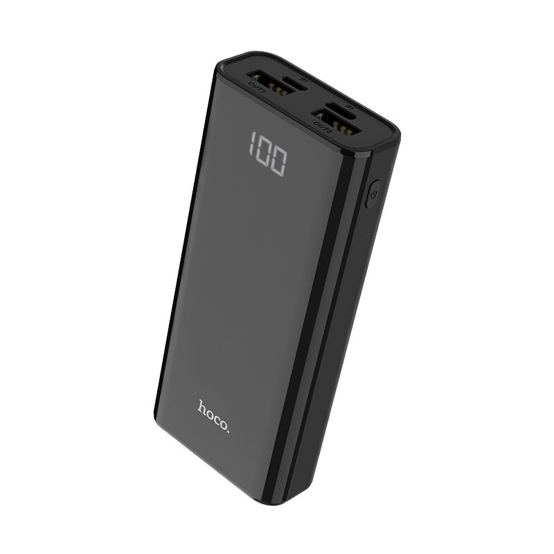Baterie Externa Hoco J45 Power Bank Elegant Shell 2xUSB 10000mAh - Black