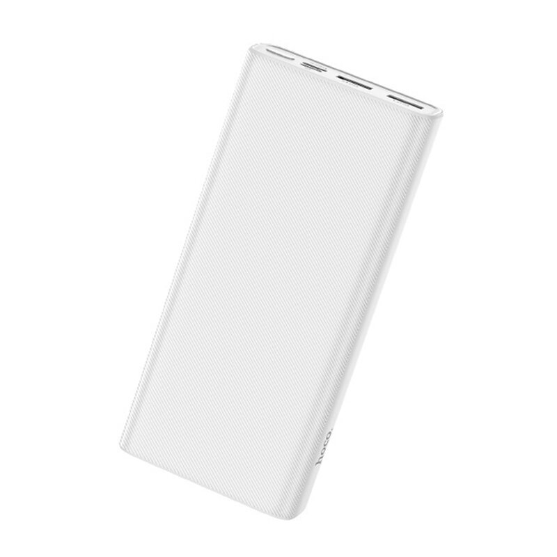 Baterie Externa Hoco J55A Neoteric Mobile Power Bank Dual-USB 2A With LED Indicator 20000mAh - White