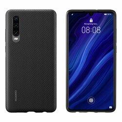 Husa Originala Huawei P40 Pro PU Case Cover - Negru