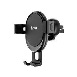 Suport Auto Hoco CA56 Metal Armour Gravity Universal 3.5-6 inch 360° Pentru Grila De Ventilatie - Black