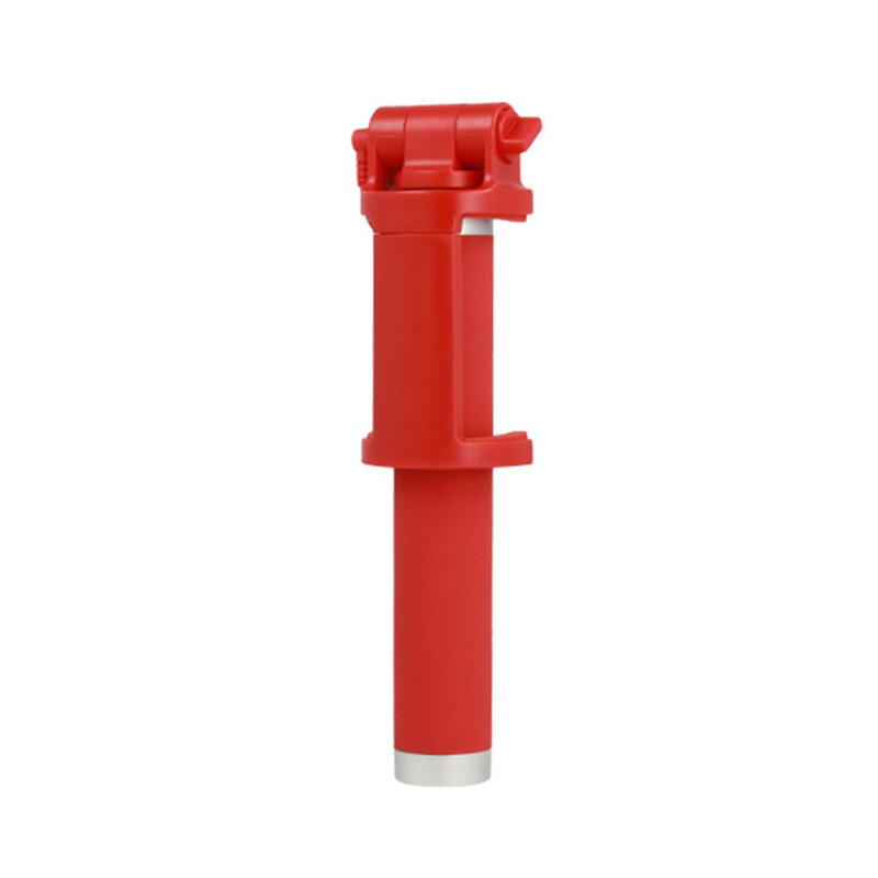 Suport Selfie Stick Vennus Cable Jack 3.5mm With Trigger - Red