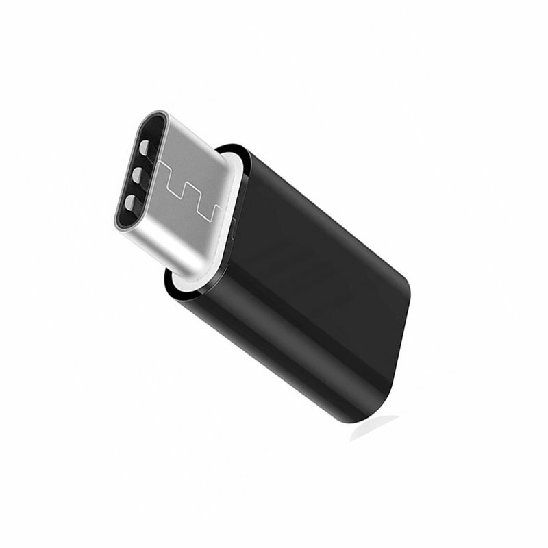 Convertor Samsung Micro-USB in Type-C - Negru GH96-12330A