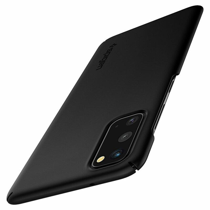 Husa Samsung Galaxy S20 5G Spigen Thin Fit - Black