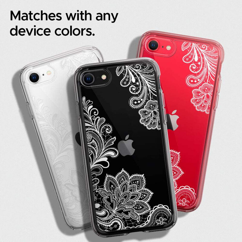 Husa iPhone 8 Spigen Ciel by Cyrill Cecile - White Mandala