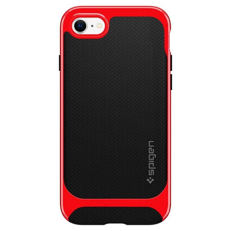 Husa iPhone 8 Spigen Neo Hybrid Herringbone - Dante Red