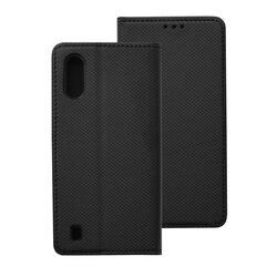 Husa Smart Book Samsung Galaxy A01 Flip - Negru