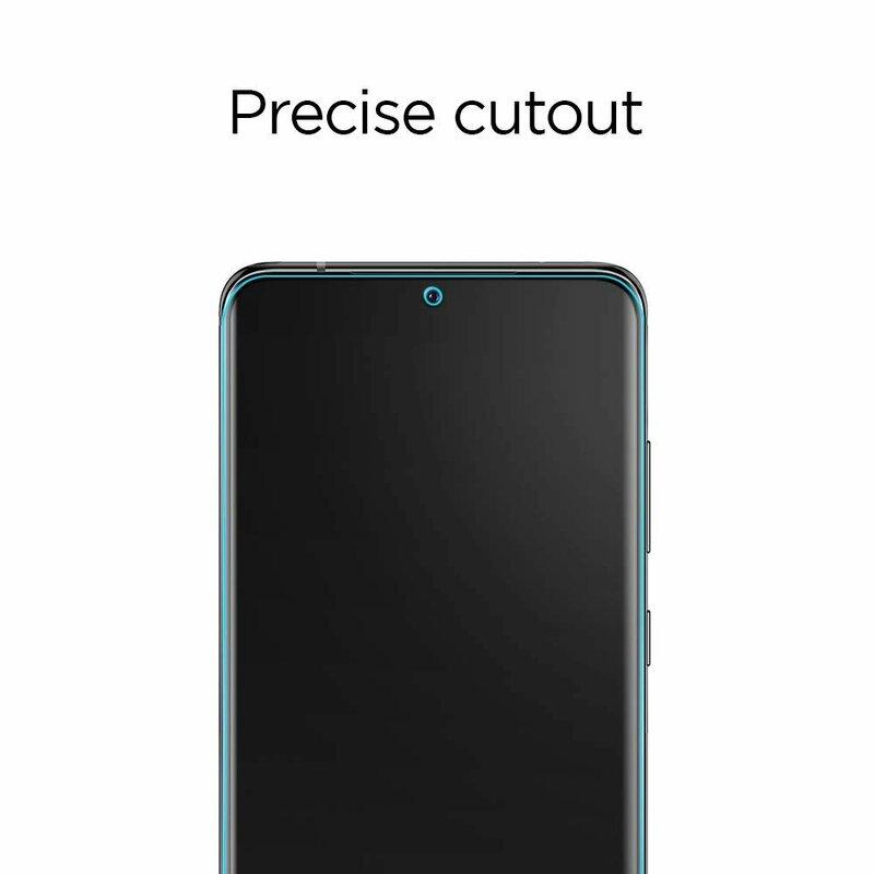 [Pachet 2x] Folie Samsung Galaxy S20 5G Spigen Neo Flex HD - Clear