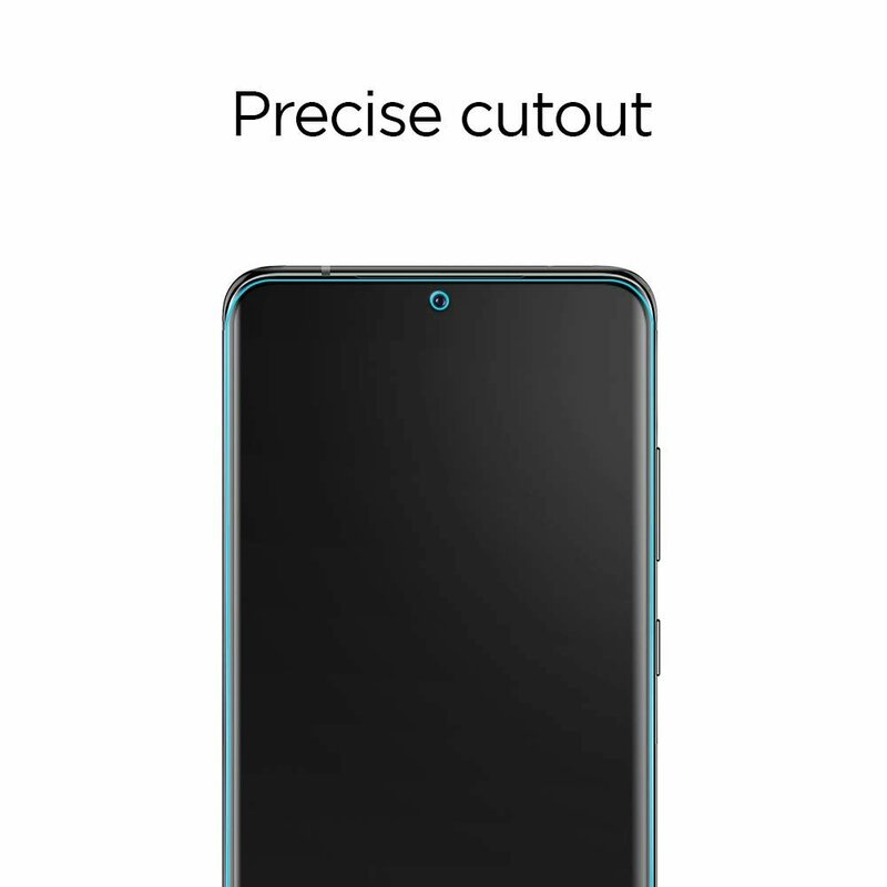 [Pachet 2x] Folie Samsung Galaxy S20 Plus Spigen Neo Flex HD - Clear