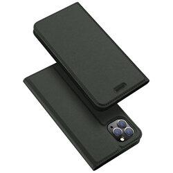 Husa iPhone 11 Pro Max Dux Ducis Flip Stand Book - Verde
