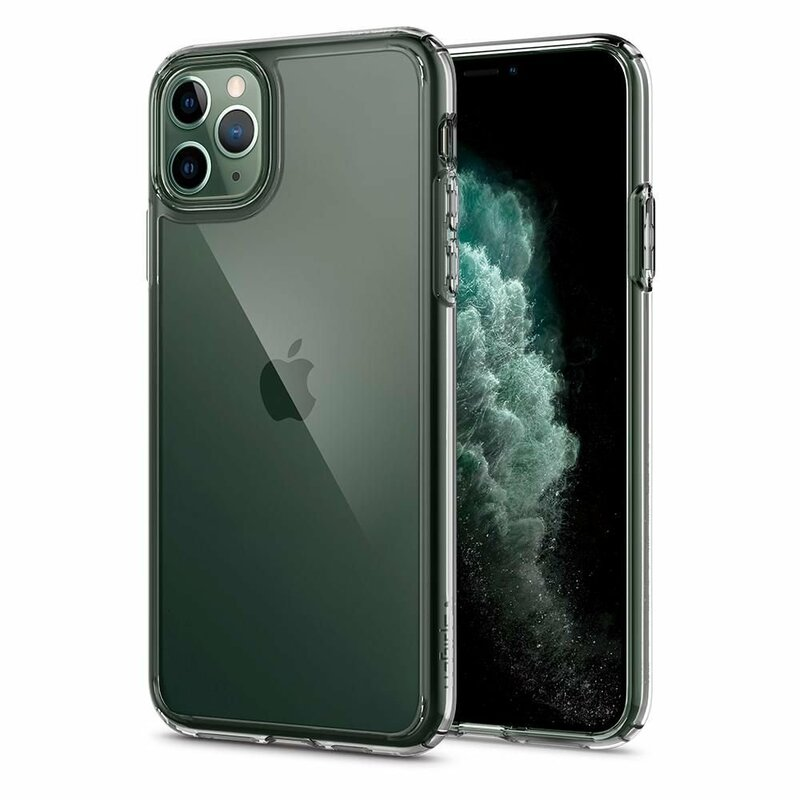 Husa iPhone 11 Pro Max Spigen Ultra Hybrid - Crystal Clear