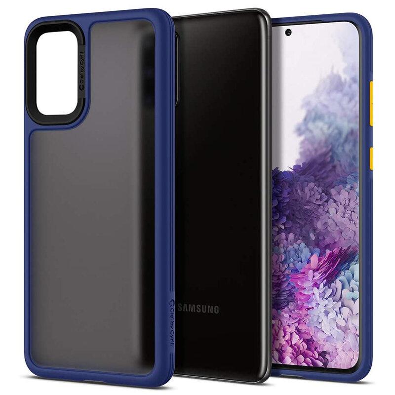 Husa Samsung Galaxy S20 Plus Spigen Ciel by Cyrill Color Brick - Navy