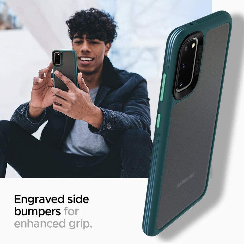Husa Samsung Galaxy S20 5G Spigen Ciel by Cyrill Color Brick - Forest Green