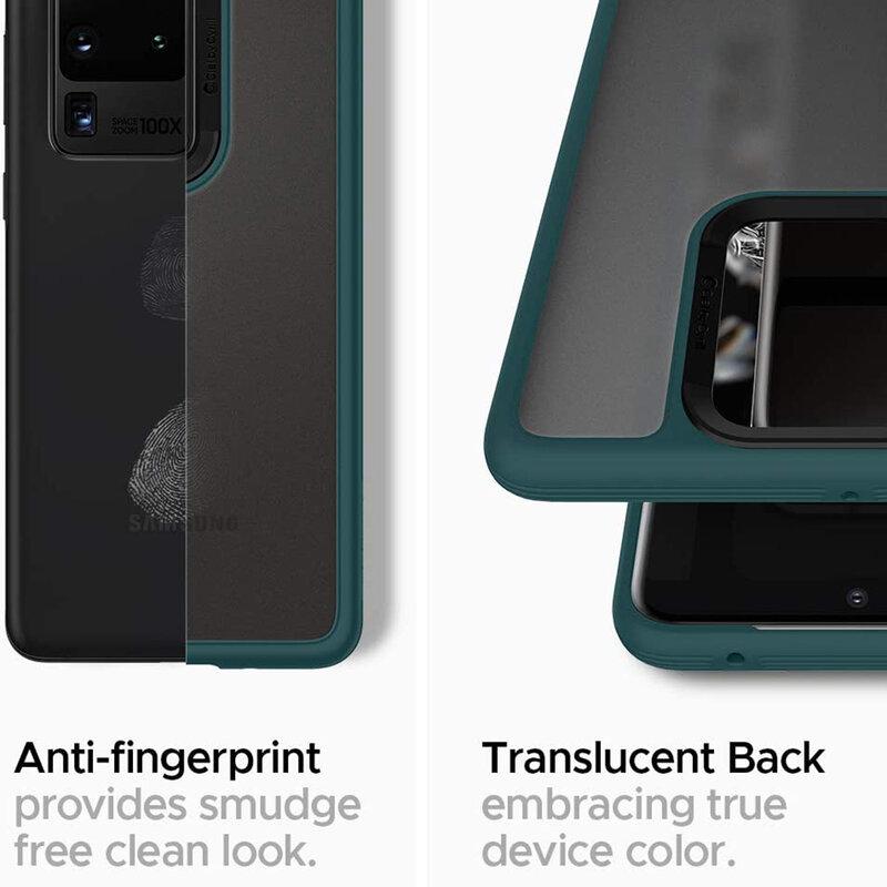 Husa Samsung Galaxy S20 Ultra 5G Spigen Ciel by Cyrill Color Brick - Forest Green