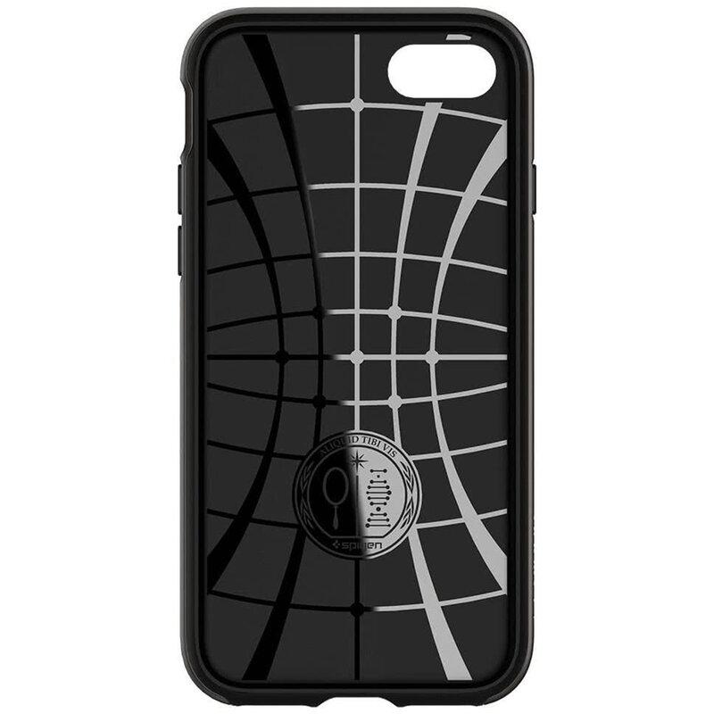 Husa iPhone 8 Spigen Hybrid NX - Matte Black