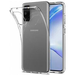 Husa Samsung Galaxy S20 5G Spigen Liquid Crystal - Crystal Clear