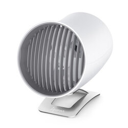 Ventilator Birou Spigen Tquens H911 USB Touch Desk Fan Aluminum Touch Control Universal - White