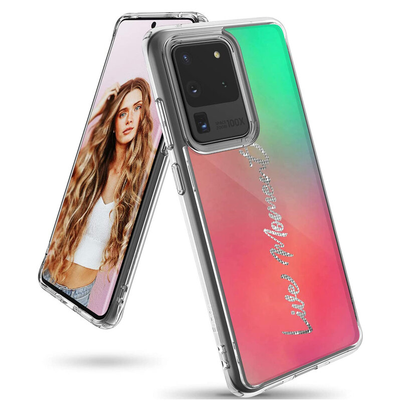 Husa Samsung Galaxy S20 Ultra 5G Ringke Fusion Design - Live Moment