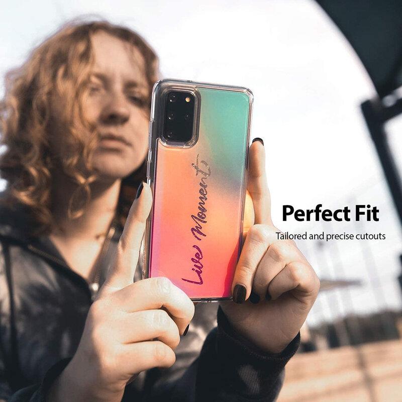 Husa Samsung Galaxy S20 Plus Ringke Fusion Design - Live Moment