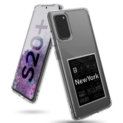 Husa Samsung Galaxy S20 Plus 5G Ringke Fusion Design - New York: Label