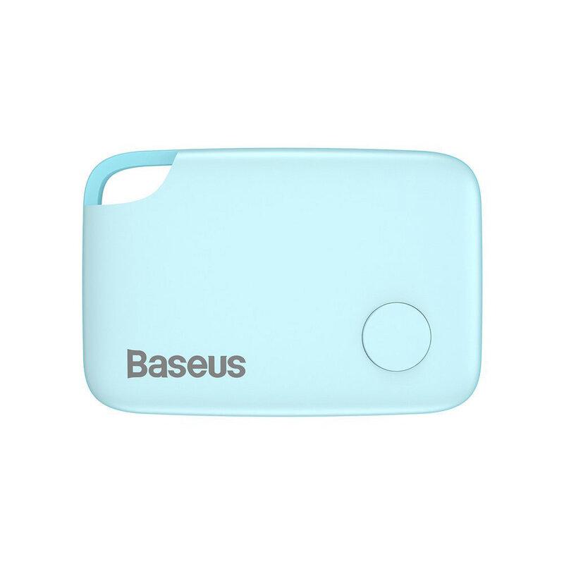 Dispozitiv Antifurt Baseus T2 Mini Ropetype Anti-loss Device Finder Pentru Chei Cu Snur - ZLFDQT2-03 - Blue