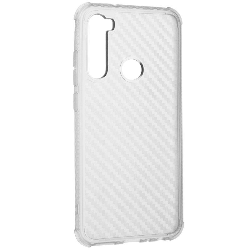 Husa Xiaomi Redmi Note 8 Roar Carbon Armor - Transparent