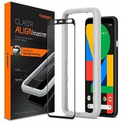 Folie Sticla Samsung Galaxy A51 Spigen Glas.t R Align Master - Black