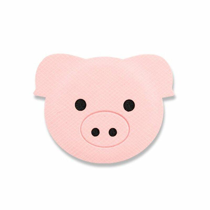 Placa Metalica Autoadeziva Ringke Magnetic Character Animal Edition Holder Pentru Suporturi Magnetice - Pig
