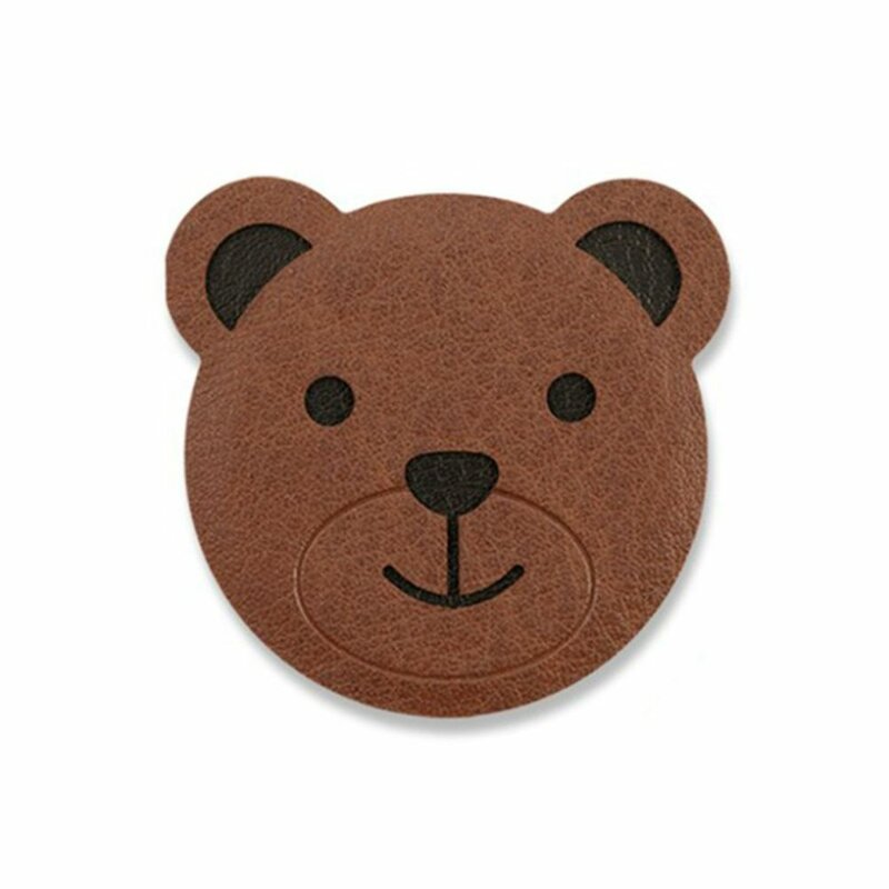 Placa Metalica Autoadeziva Ringke Magnetic Character Animal Edition Holder Pentru Suporturi Magnetice - Bear