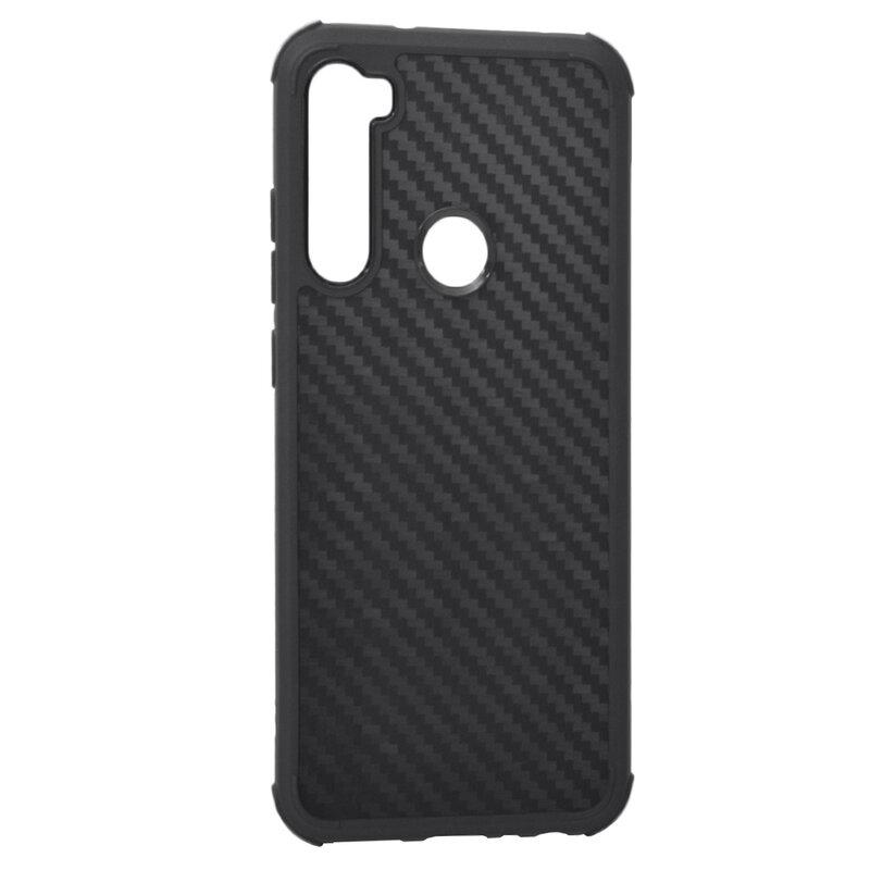 Husa Xiaomi Redmi Note 8 Roar Carbon Armor - Negru