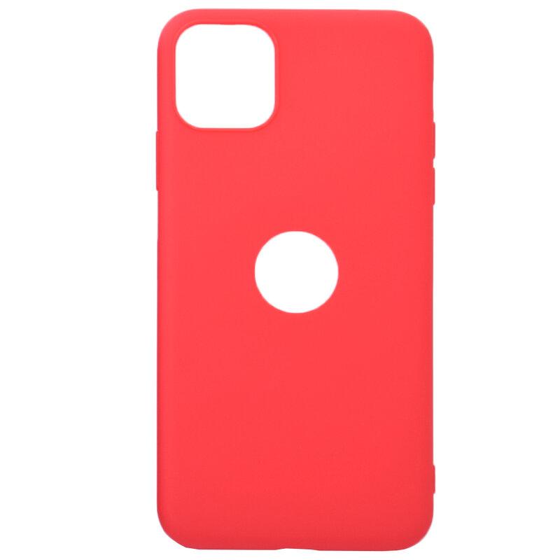 Husa iPhone 11 Pro Max Soft TPU - Rosu