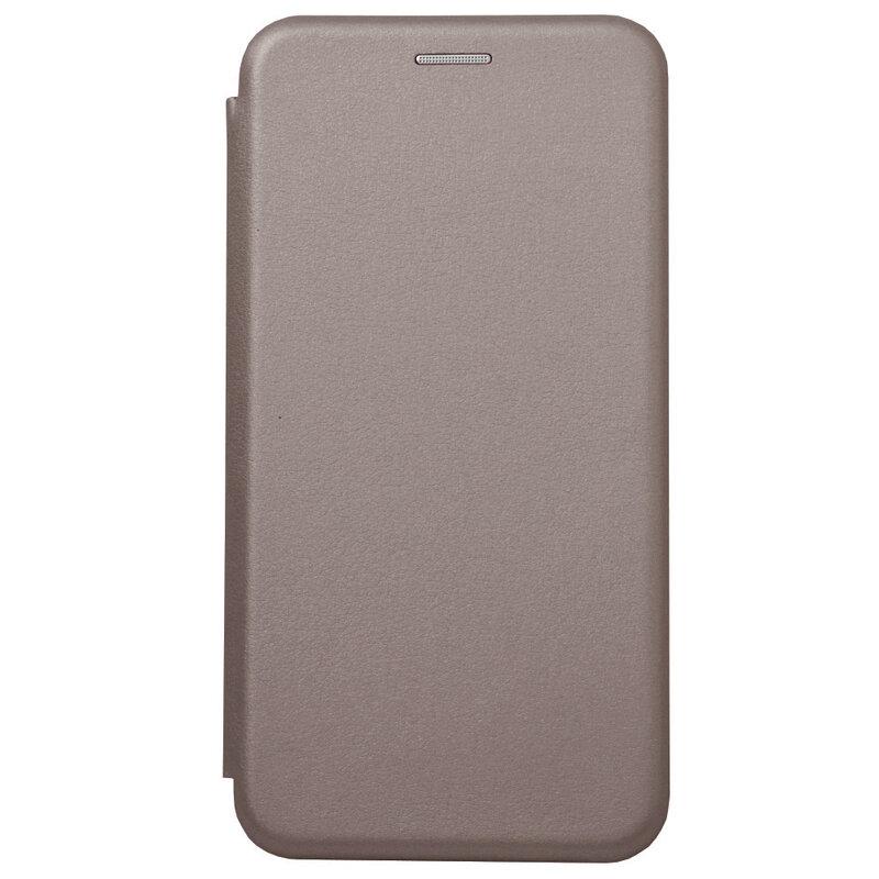 Husa iPhone 11 Flip Magnet Book Type - Grey