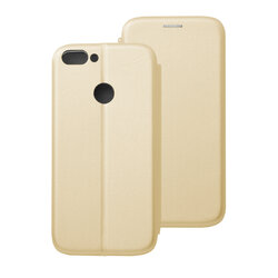 Husa Huawei P Smart Flip Magnet Book Type - Gold