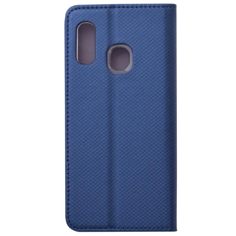 Husa Smart Book Samsung Galaxy A20e Flip - Albastru