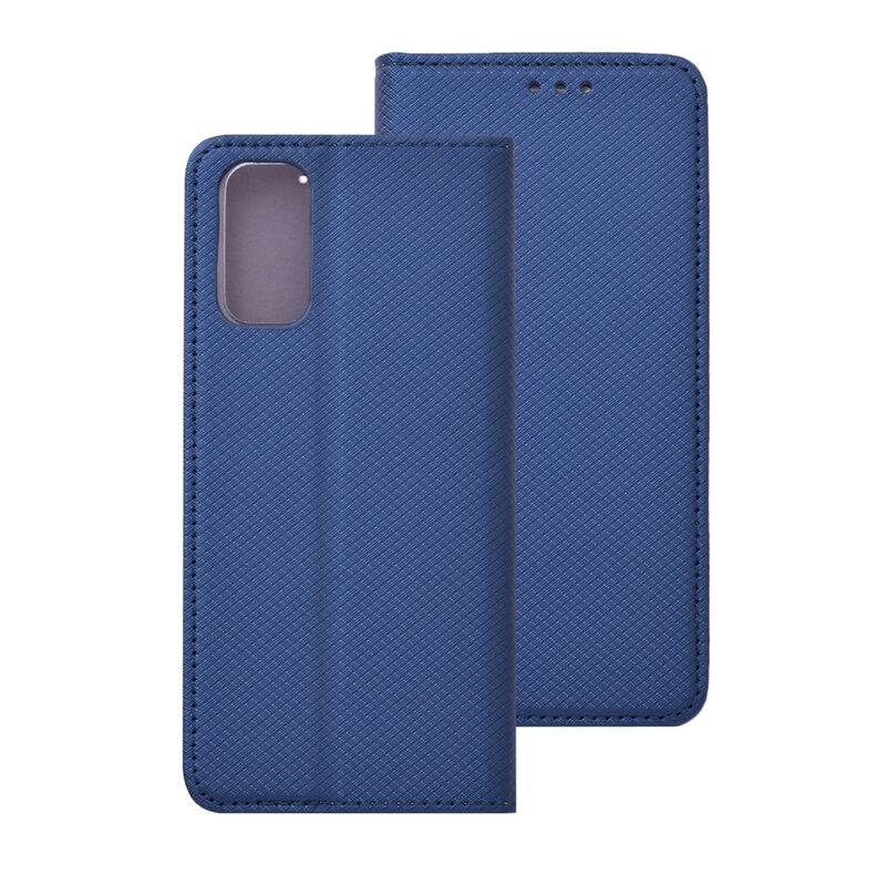 Husa Smart Book Samsung Galaxy S20 5G Flip - Albastru
