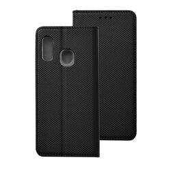 Husa Smart Book Samsung Galaxy A20e Flip - Negru
