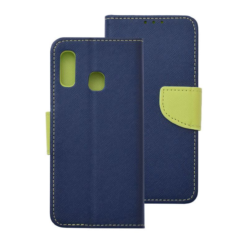 Husa Samsung Galaxy A20e Flip MyFancy - Albastru