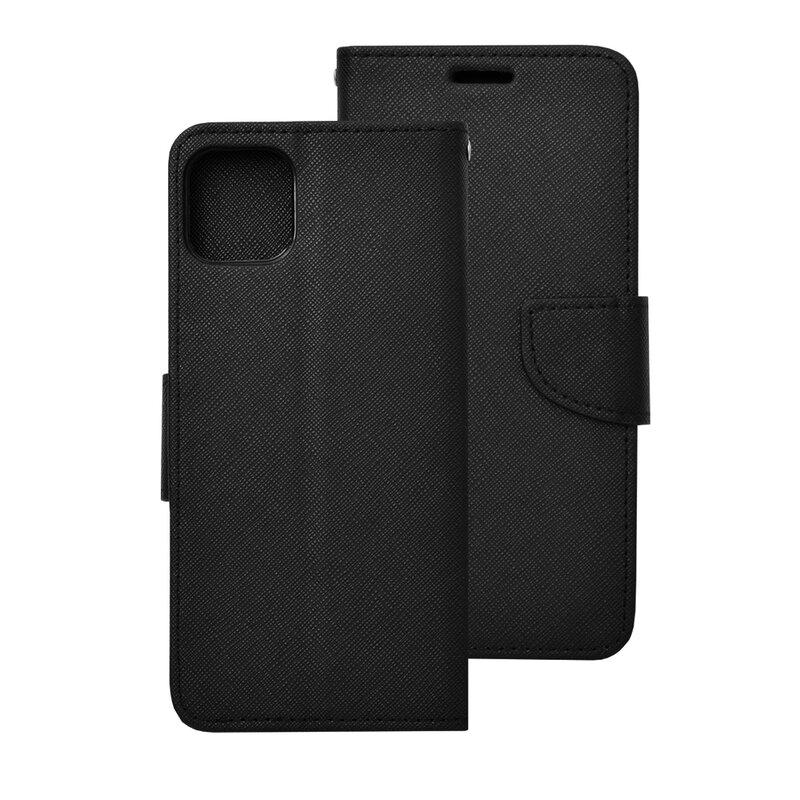 Husa iPhone 11 Pro Max Flip MyFancy - Negru
