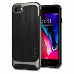 Husa iPhone 8 Spigen Neo Hybrid Herringbone - Gunmetal